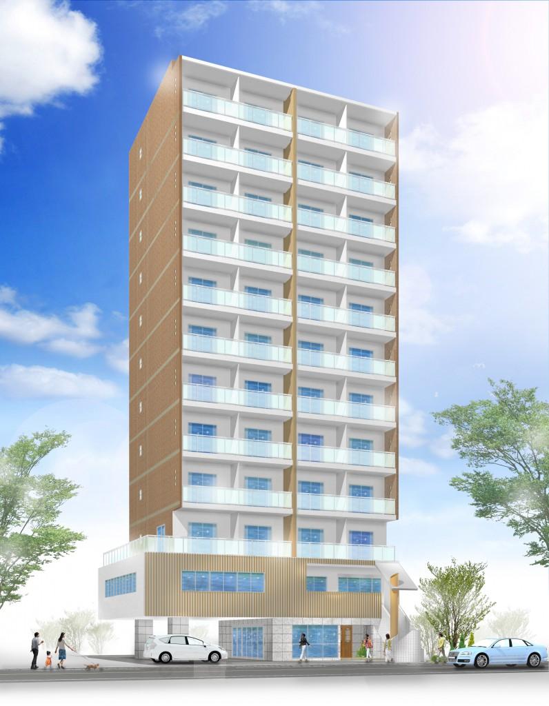 (仮称)楽々園新築マンション 44222